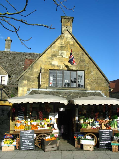 Grocers shop Broadway Cotswolds
