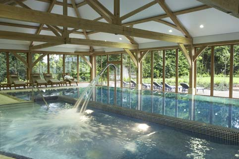 Pool and Spa at Luton Hoo