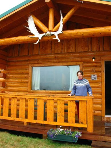 Picture of Alice at Sheep Mountain Lodge