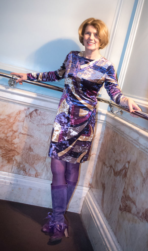 Patricia Rayner in Alice & Co at the Andaz Hotel Liverpool St. London