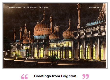 free e-card from the Brighton Pavilion archive