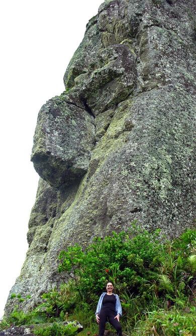 Top of the Needles Peak Rarotonga