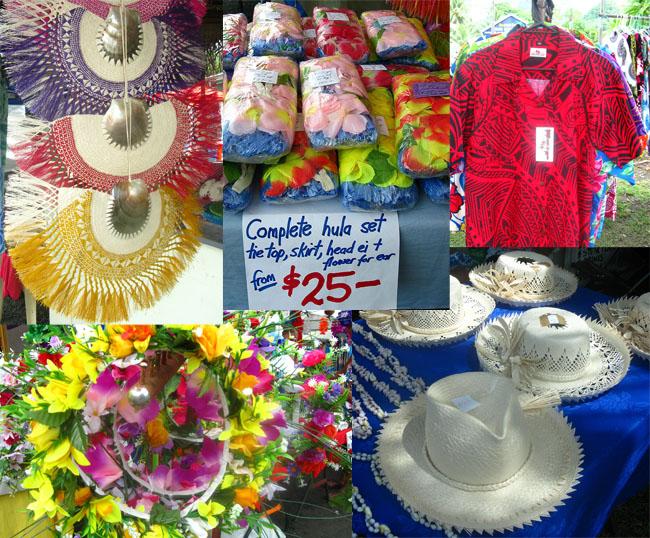 Saturday market Rarotonga