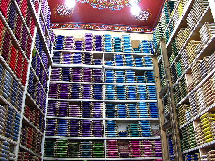 Silk threads Fez