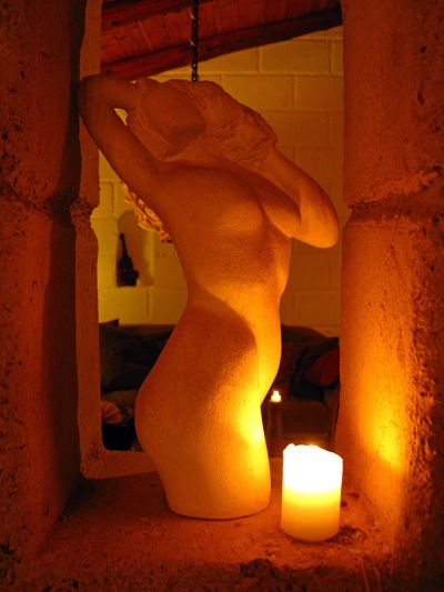 Carla's sculpture Wanama Lodge NZ