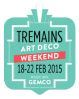 Tremains Art Deco Weekend logo