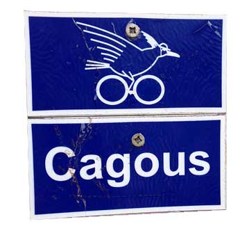 Cagoo sign