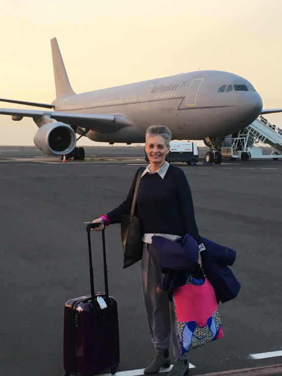 RAF Flight to the Falklands Cape Verde stop off