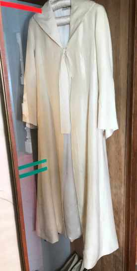 SILK COAT IN LA SEBASTIANA MUSEUM HOUSE